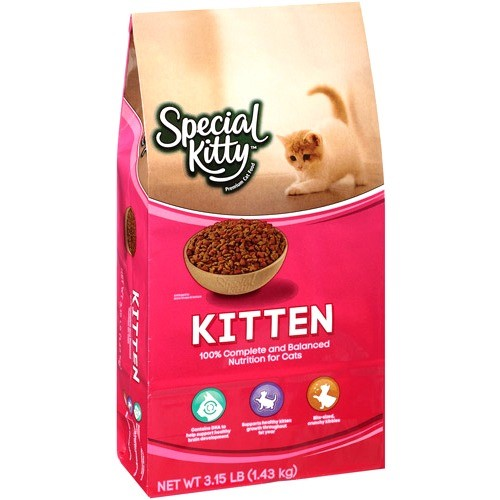 Special Kitty Kitten Formula Dry Cat Food, 3.5 lb