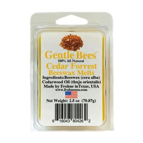 Gentle Bees  Cedar Forrest Beeswax Melts