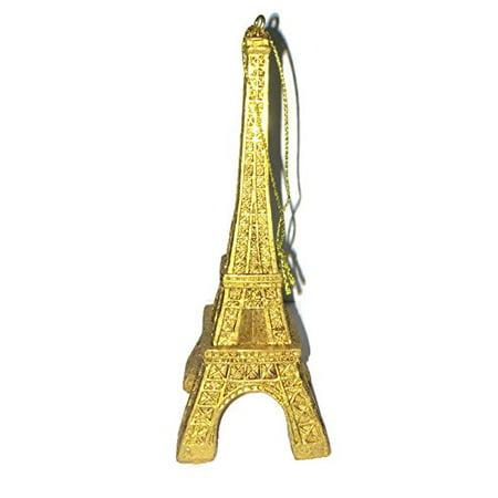 Parisian Themed Decor (Gold Resin Eiffel Tower Ornament - 5