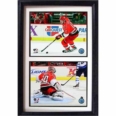 NHL Carolina Hurricanes 12x18 Double Frame by