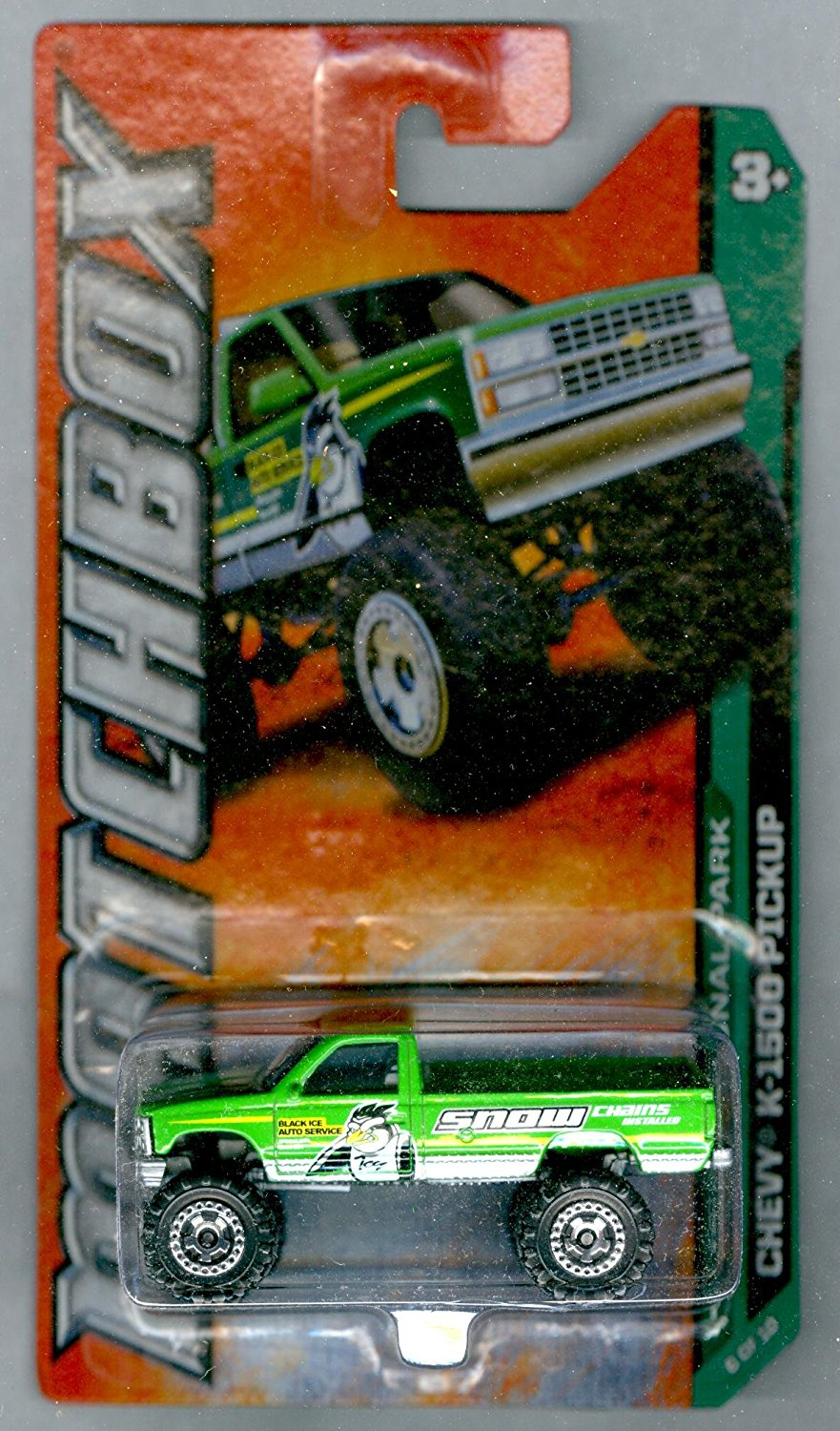 2012-116 MBX National Park Chevy K-1500 Pickup GREEN 1:64 Scale, 2012 National Park #6 of... by