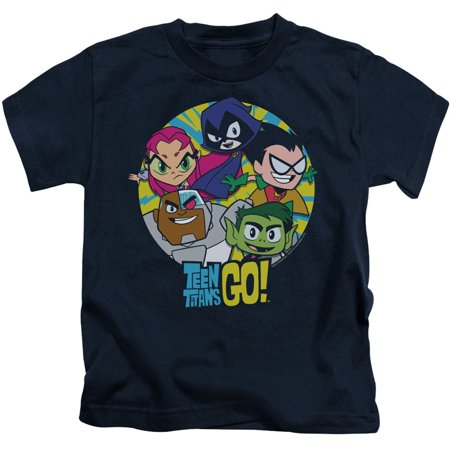 Teen Titans Go Go Go Group Little Boys Juvy Shirt - Teen Boys 69