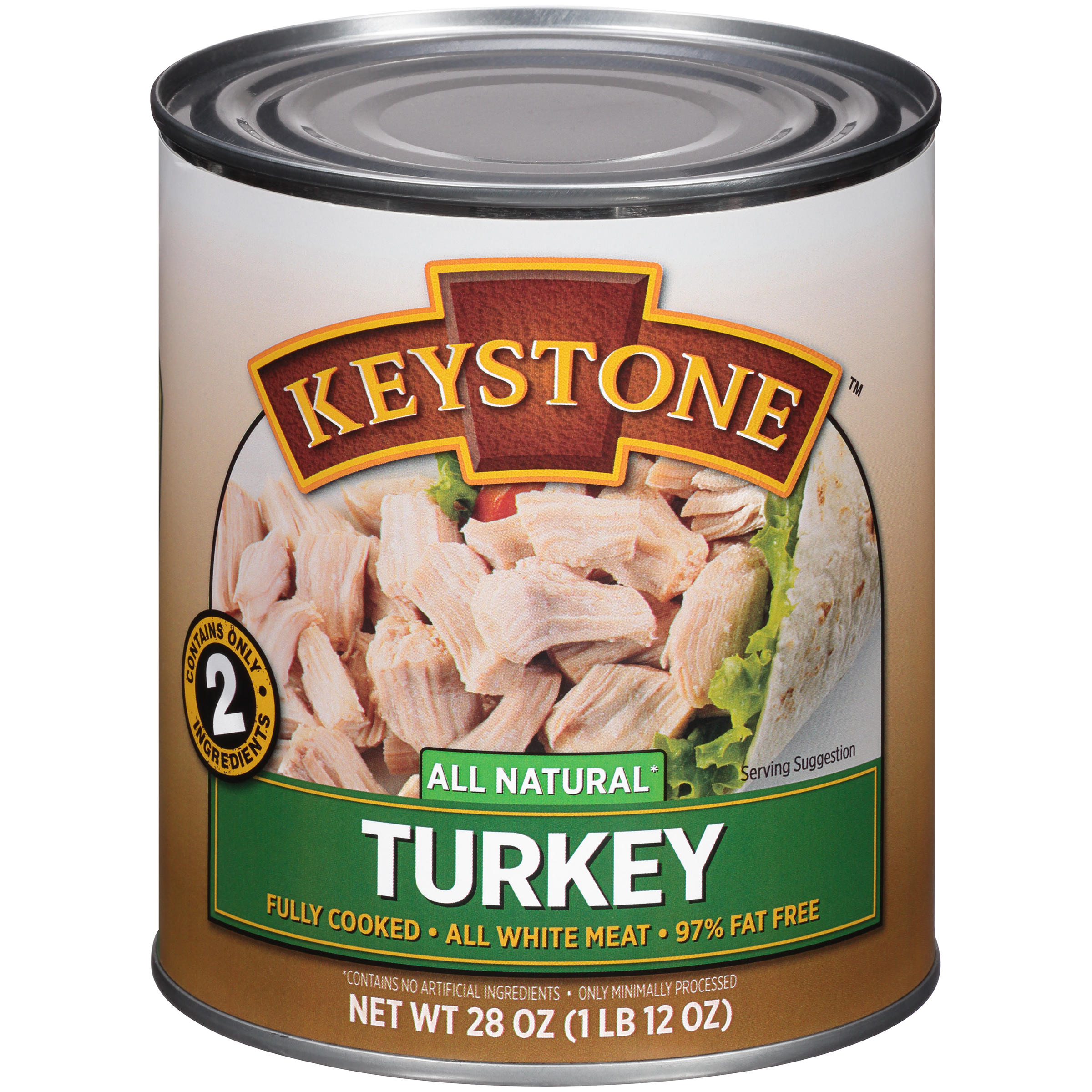 Keystone Turkey, 28 oz