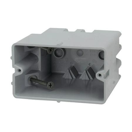Madison Electric Products Smart Box 1-Gang Horizontal Adjustable Depth Device -