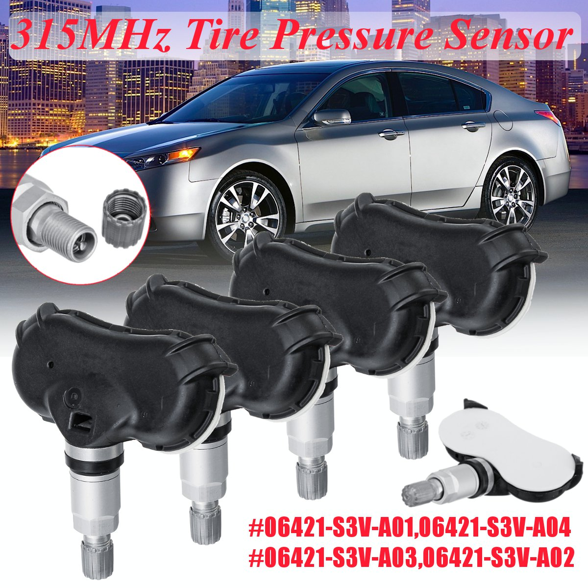 315MHz OEM Tire Pressure Monitor Sensor TPMS Honda Odyssey Ridgeline Pilot Acura