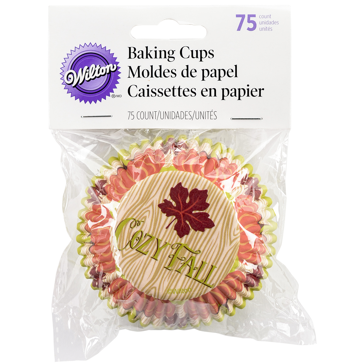 Standard Baking Cups-Cozy Fall 75/Pkg
