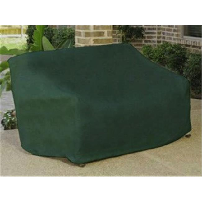 NorthLight Durable Outdoor Patio Vinyl 3-Seat Glider Chair Cover - Green