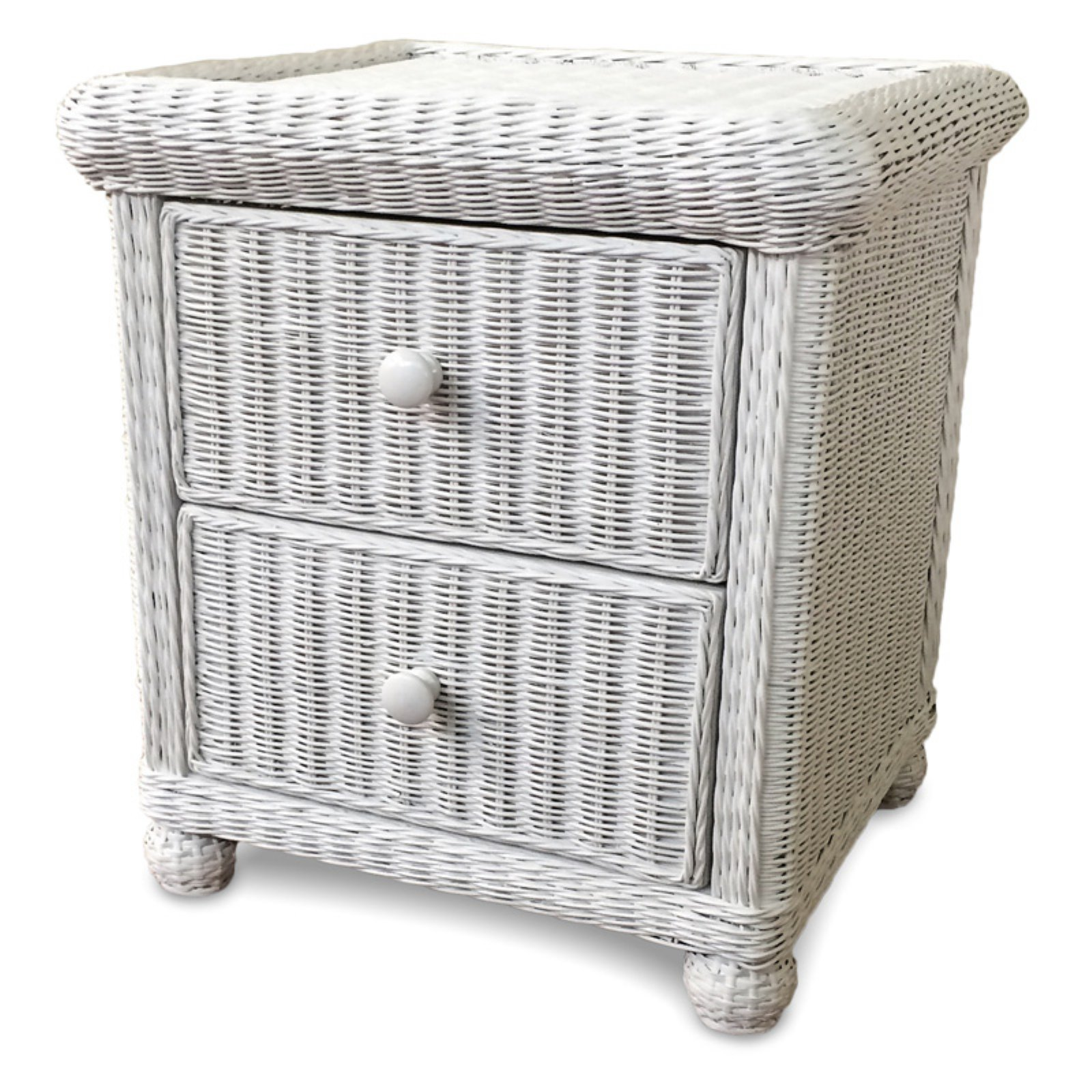Wicker Paradise Designs 2 Drawer Nightstand