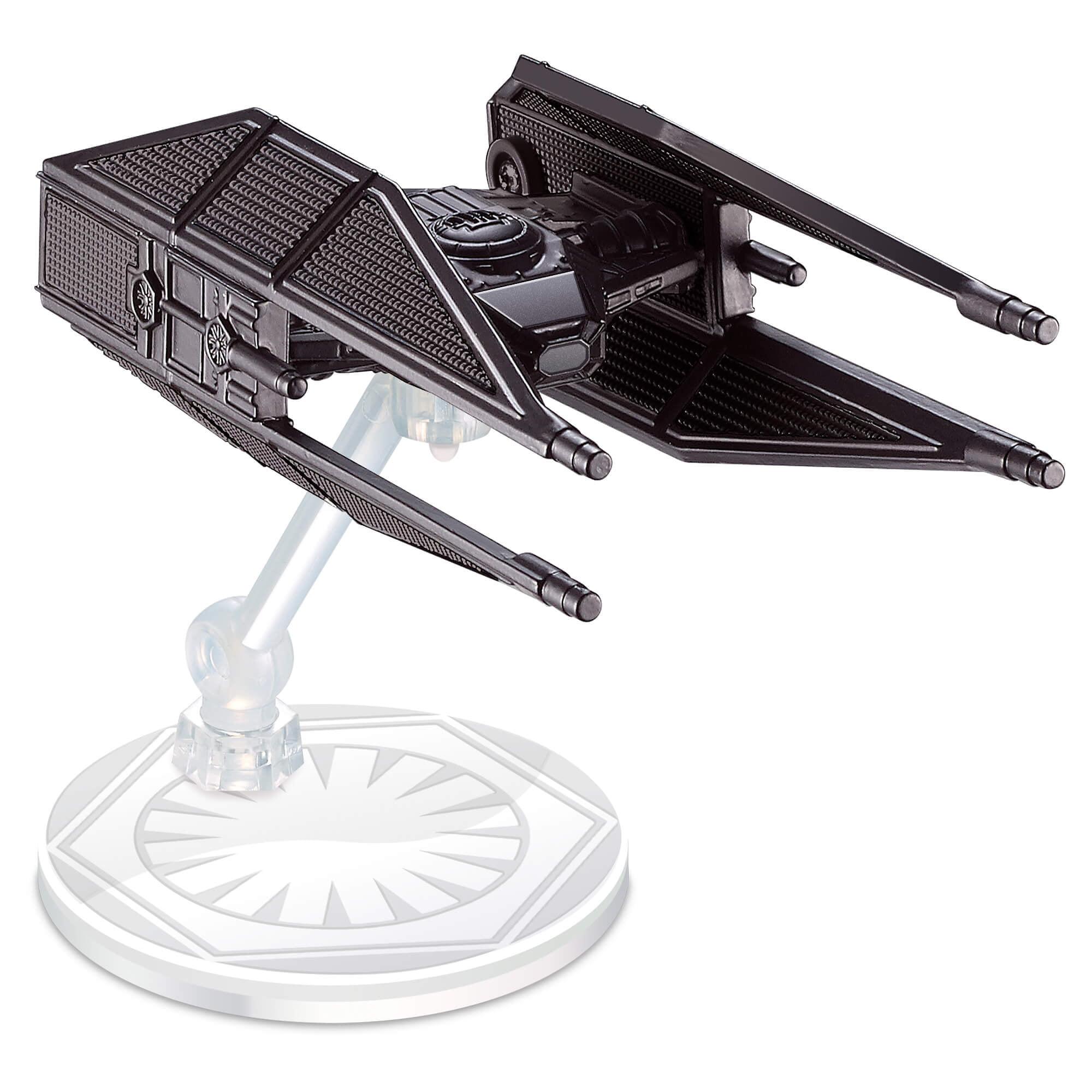 Hot Wheels Star Wars: The Last Jedi Kylo Ren's TIE Silencer, Starship by Mattel