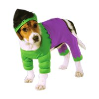 Classic Marvel Hulk Super Hero Pet Dog Size Small Costume