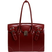 LECLAIRE 96876 Red Ladies Laptop Tote