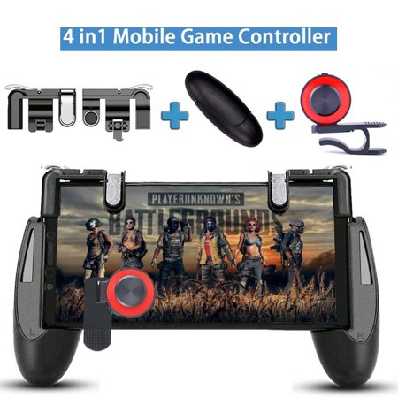 3 in 1 Gamepad for Knives Out PUBG Mobile Phone Shoot Game Controller L1R1 Shooter Trigger Fire Button - image 7 of 7