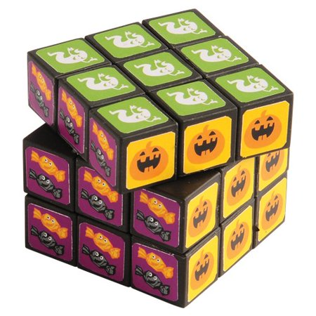US TOY FA958 Halloween Puzzle Cubes - Halloween Cuba