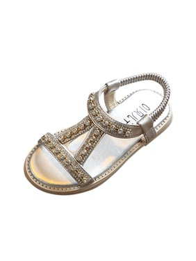 f6097fe5e Product Image Outtop Summer Kids Baby Girls Sandals Crystal Beach Sandals  Princess Roman Shoes