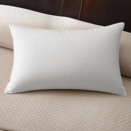 Famous Maker 230 Thread Count Firm White Down Pillow Euro Square