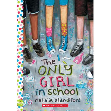 The Only Girl in School: A Wish Novel (Paperback)](Halloween Wishes In Spanish)