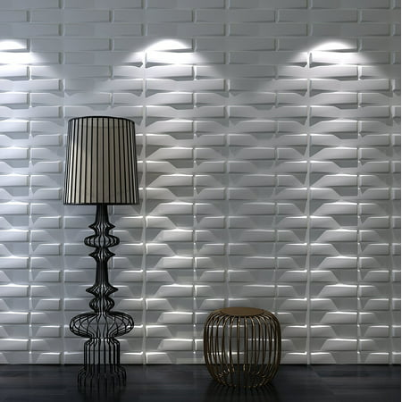 art3d 32 sq ft decorative 3d wall panels for tv background