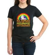 Womens I'm Delusional T-Shirt
