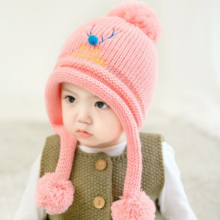 5c14521e0 Fashion Knit Sweater Cap Infant Baby Kids Toddler Cute Winter Warm Xmas Hat  Boy Girl