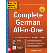 Practice Makes Perfect: Complete German All-in-One - eBook