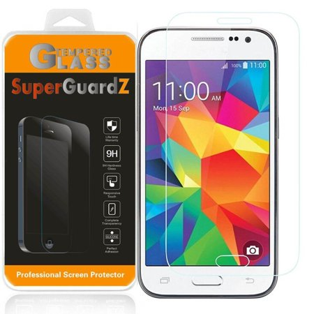 For Samsung Galaxy Core Prime - SuperGuardZ Tempered Glass Screen Protector, 9H, Anti-Scratch, Anti-Bubble, Anti-Fingerprint