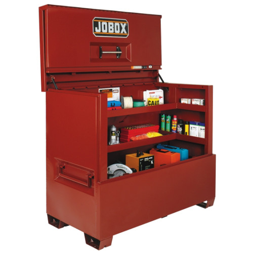 JOBOX 1-682990 60 in. Long Piano Lid Box with Site-Vault Security System