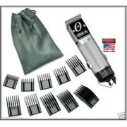 Oster Silver 76 Limited Edition Professional Hair Clipper With 10 Piece Comb Set