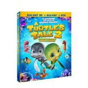 A Turtles Tale 2: Sammys Escape From Paradise (Blu-ray + DVD)
