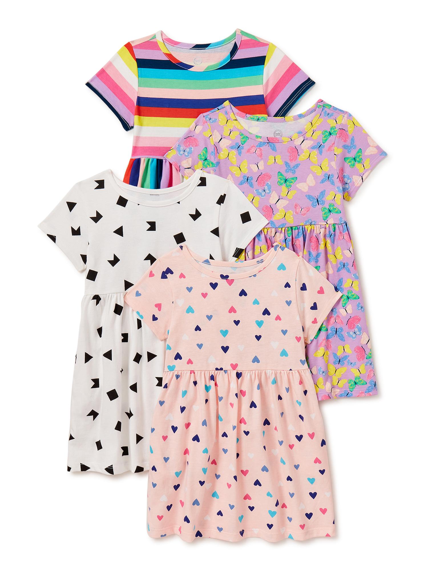 All Seasons Dress Toddler Girl/'s Dress Green Turtle Pinafore Dress Reversible A Line Dress Party dress Size 6 months