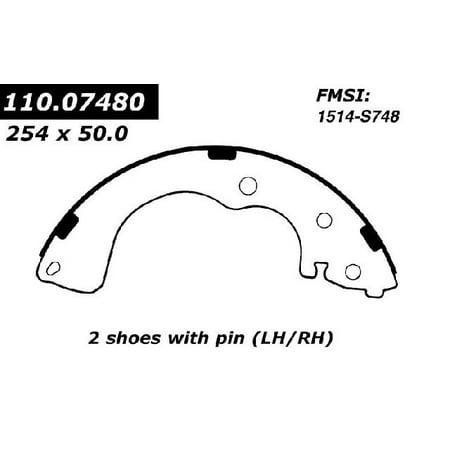 OE Replacement for 2000-2003 Mazda MPV Rear Drum Brake