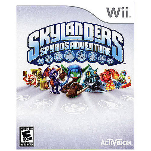 Skylanders Spyro's Adventure - Game Only (Wii) - Pre-Owned