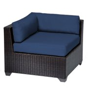 Bowery Hill Corner Patio Chair in Navy