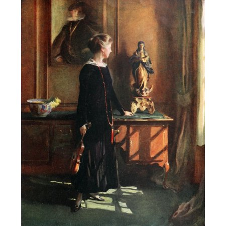 The International Studio 1921 Littleworth Corner Poster Print By  Philip Alexius De Lszl
