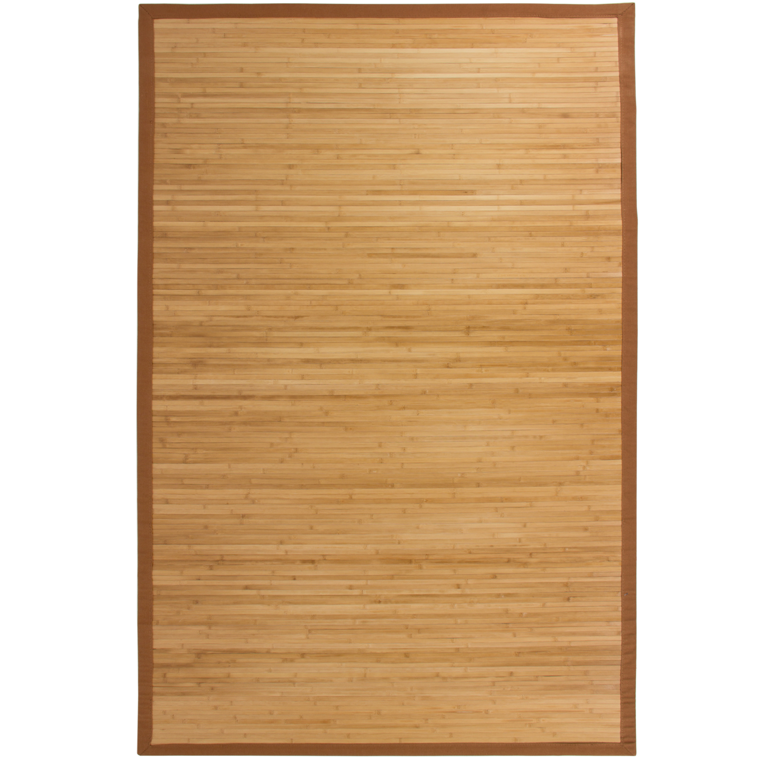 Best Choice Products Bamboo Area Rug Carpet Indoor 5 X 8 100 Natural Wood New Com