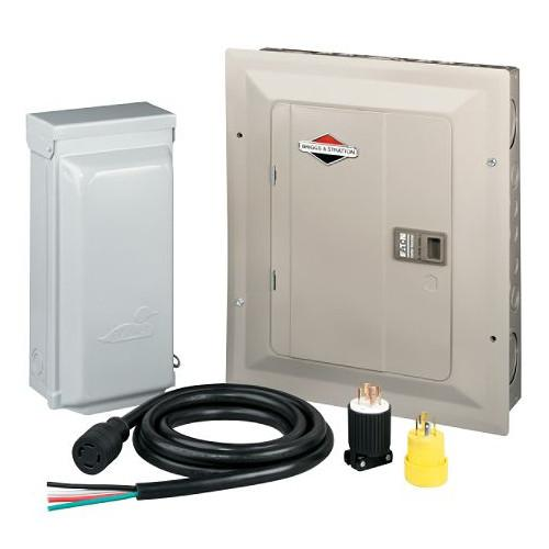 Briggs & Stratton 71014 30 Amp Manual Transfer Switch for 7 kW