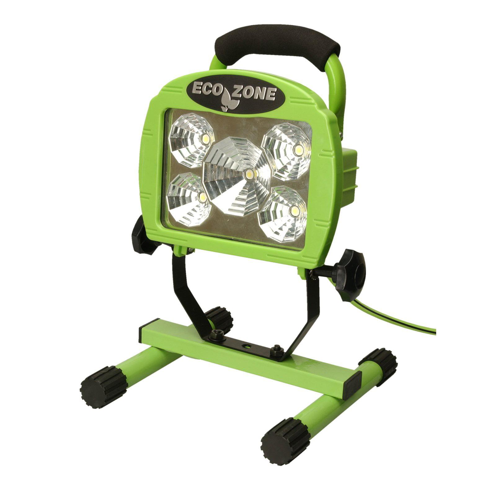 Designers Edge 5 Led Portable Work Light Green 6 Foot Cord