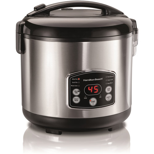 Hamilton Beach 14 Cup Digital Simplicty Rice Cooker | Model# 37549