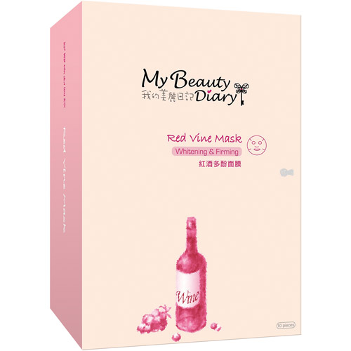 My Beauty Diary Red Vine Mask, 10 count
