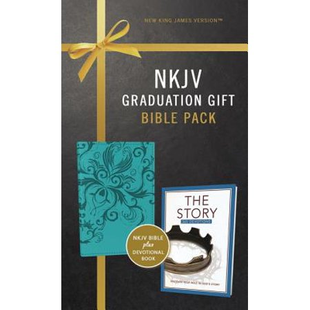 NKJV, Graduation Gift, Bible Pack for Her, Blue, Red Letter Edition (Other) - Graduation Gifts For Her High School