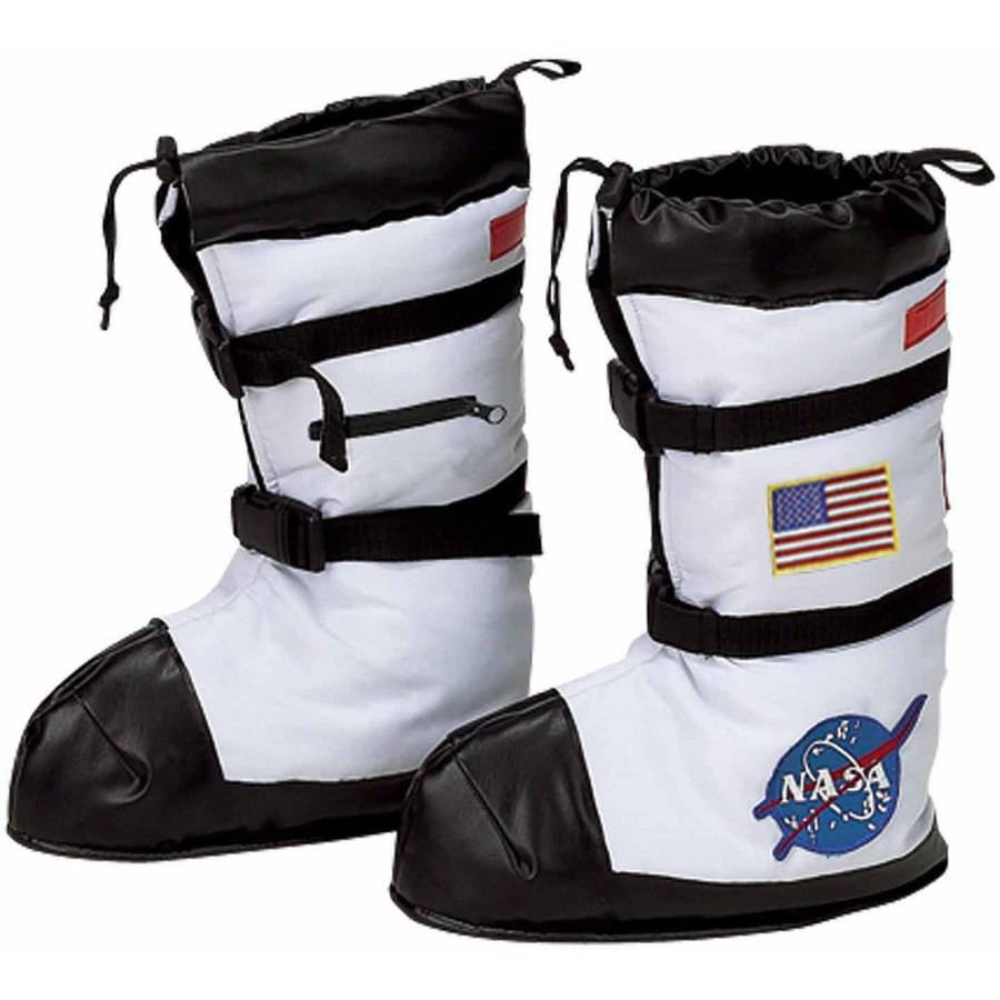 NASA Astronaut Boot Covers Child Halloween Costume Accessory