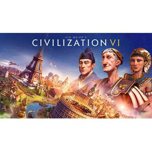 Sid Meier's Civilization VI, Nintendo Switch, (Digital Download), 045496662998