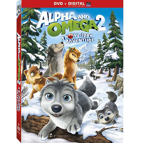 Alpha & Omega 2: A Howliday Adventure (DVD + Digital Copy) (Walmart Exclusive) (With INSTAWATCH) (Widescreen)