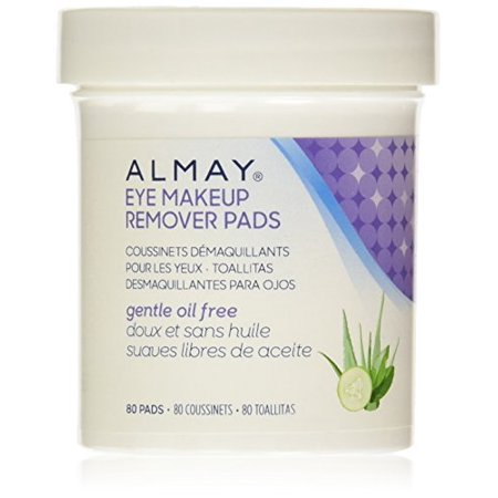 Almay Oil-Free Eye Makeup Remover Pads, 80 Counts (Pack of 24) - Walmart.com
