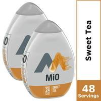 (2 Pack) MiO Sweet Tea Sugar Free, Caffeine Free Liquid Water Enhancer, 1.62 fl oz Bottles