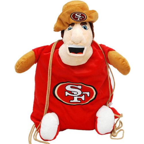 """NFL - San Francisco 49ers """"Sourdough Sam"""" Backpack Pal"""