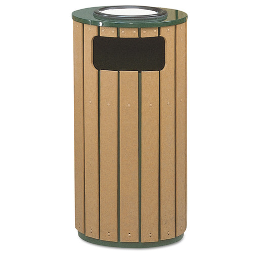 Premier Mounts Regent Receptacle 12 Gallon Trash Can