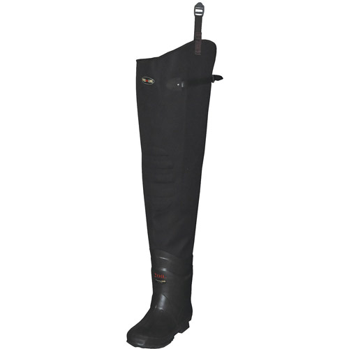 Proline Size 10 Plain Toe Hip Waders, Men's, Dark Brown, 3111 10