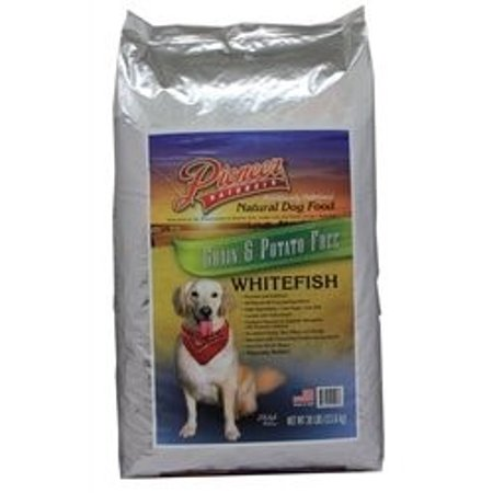Great Life Pioneer Naturals Grain Free Dry Dog Food Whitefish  8 Lb
