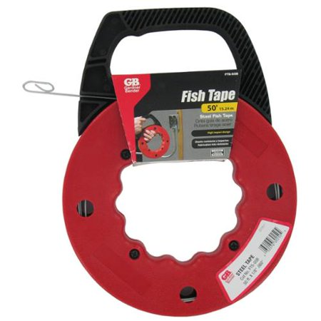 Gb gardner bender fts 50b streamline fish tape reel for Fish wire walmart