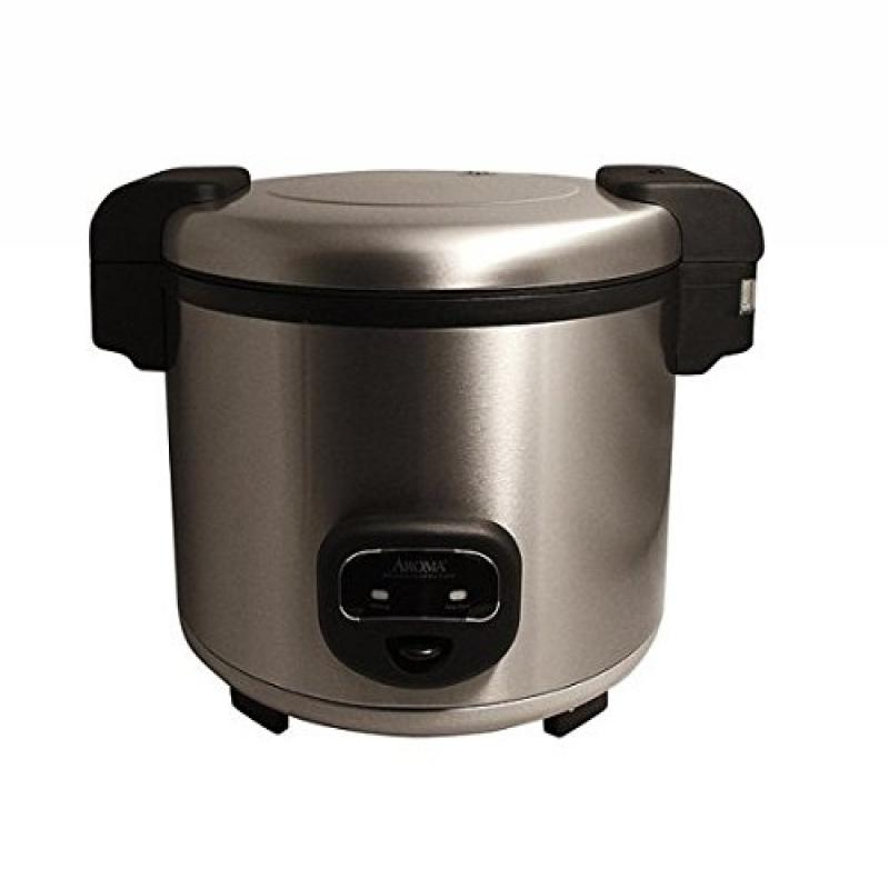 Cool Touch Commercial Rice Cooker 60-cup Stainless Steel ETL Sanitation Listed for